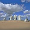 sand hand, Punta del Este