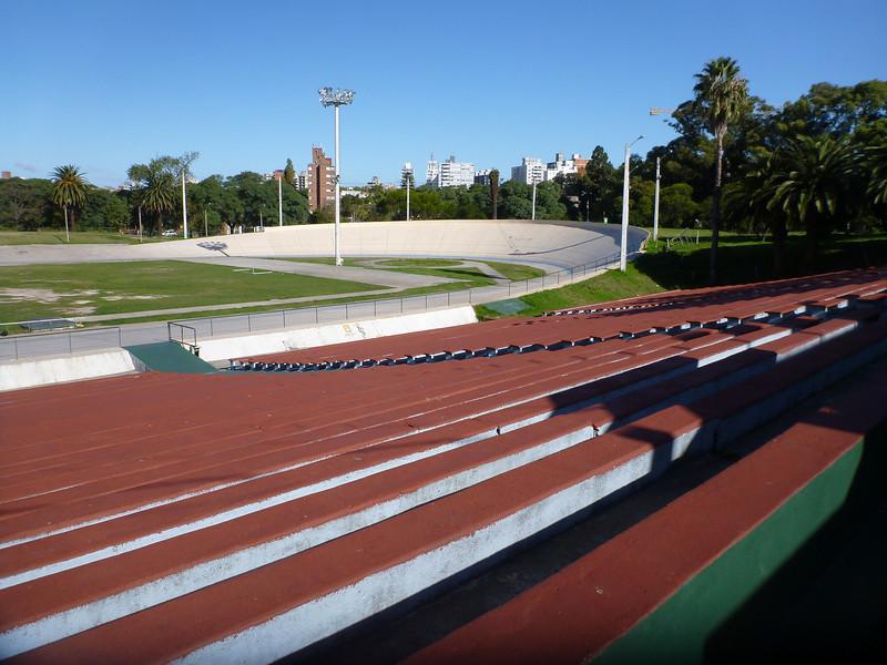 inside the velodrome, Parque Batlle, Montevideo