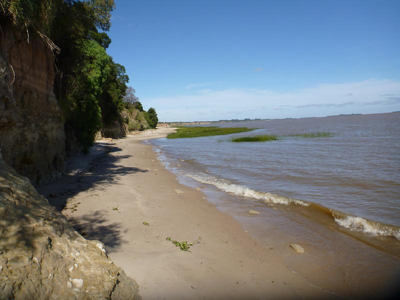 archeological site, Parque Brisas del Plata, Uruguay