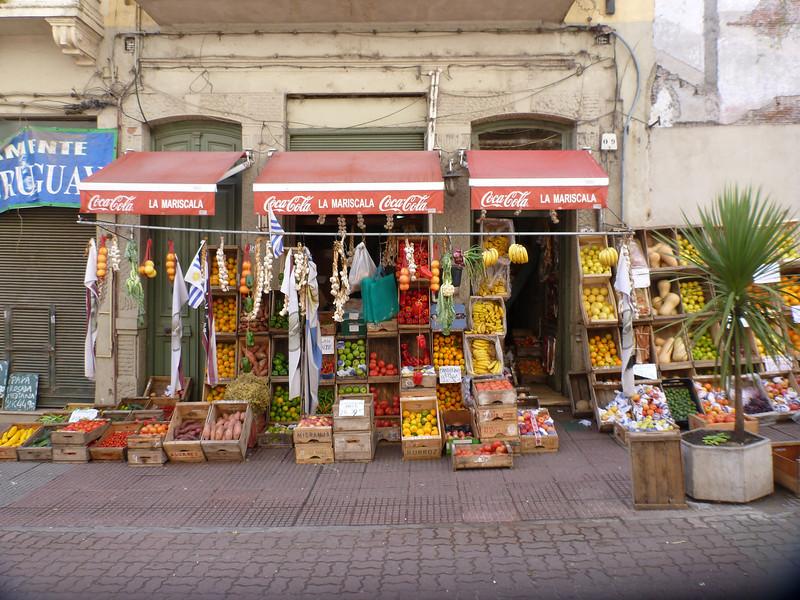 fruit vendor, Ciudad Vieja, Montevideo