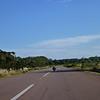 David on the road to Rocha, Uruguay