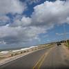 Riding with David towards Punta del Este