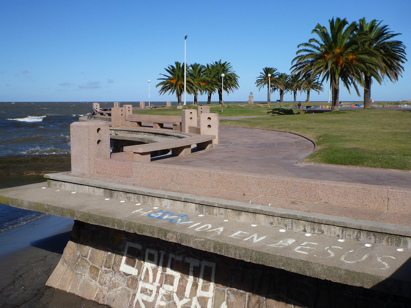 along the Rambla, Montevideo
