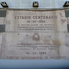 plaque at Estadio Centenario, Montevideo