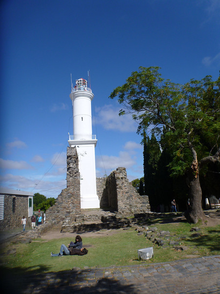 old fort, Colonia, Uruguay
