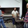 David, Alejandro, and Mike as Alejandro grills up a feast.  (Rocha, Uruguay)