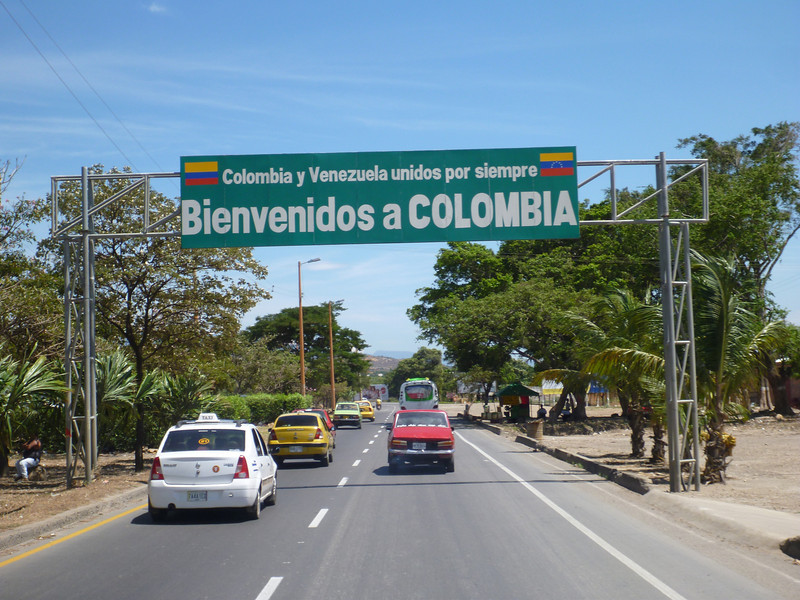 Colombia and Venezuela always united in Cucuta, Colombia
