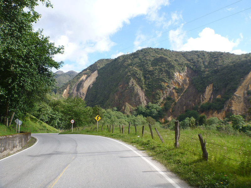 On the way to Bucamaranga, Colombia