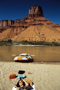 Day 8, rafting on the Colorado river.