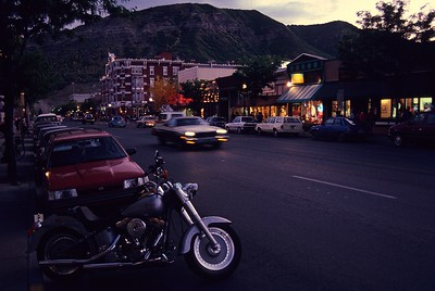 Evening in Durango.