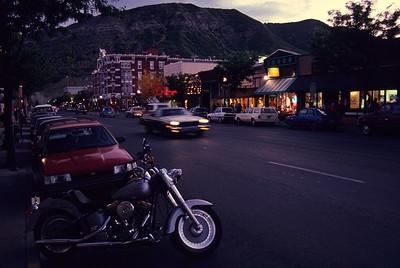 Evening in Durango.