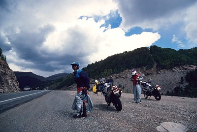 Day 6, from Durango to Silverton and back. This road goes over a pass higher than 12000ft.