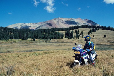 On the way from Telluride to Moab.
