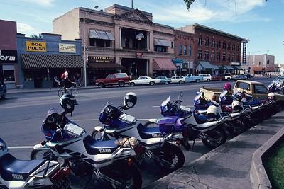 Motors parked in Prescott.