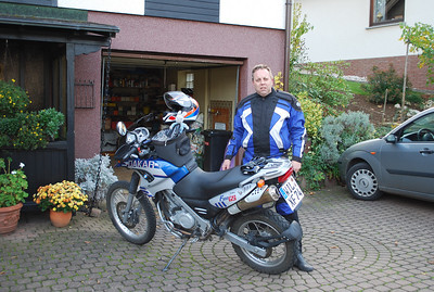 Motorcycle Adventure to Europe 2008