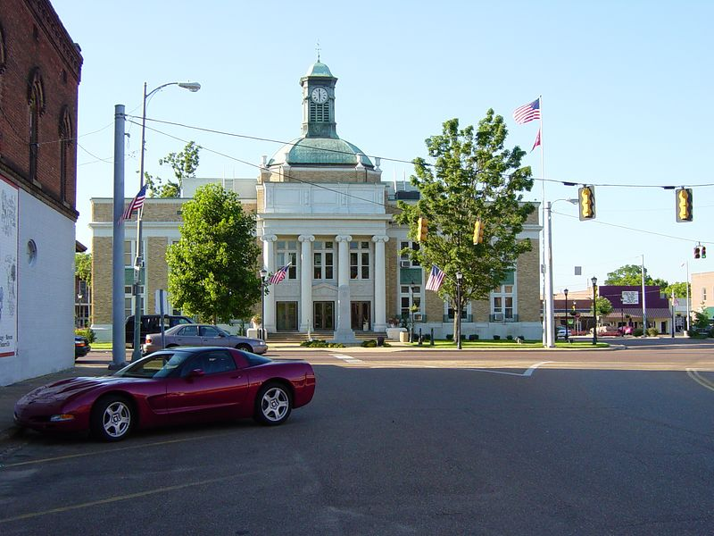 Courthouse, Somerville, Tennessee
