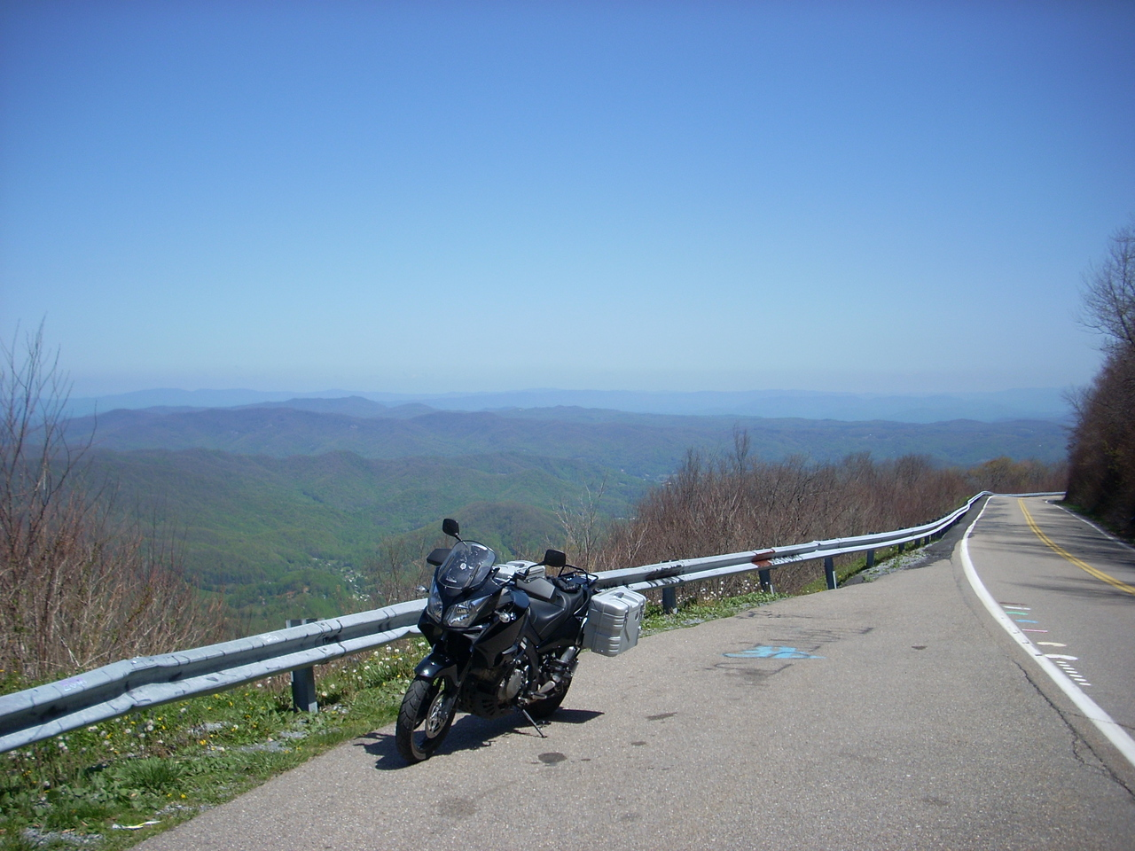 Roan Mtn. towards Carver's Gap