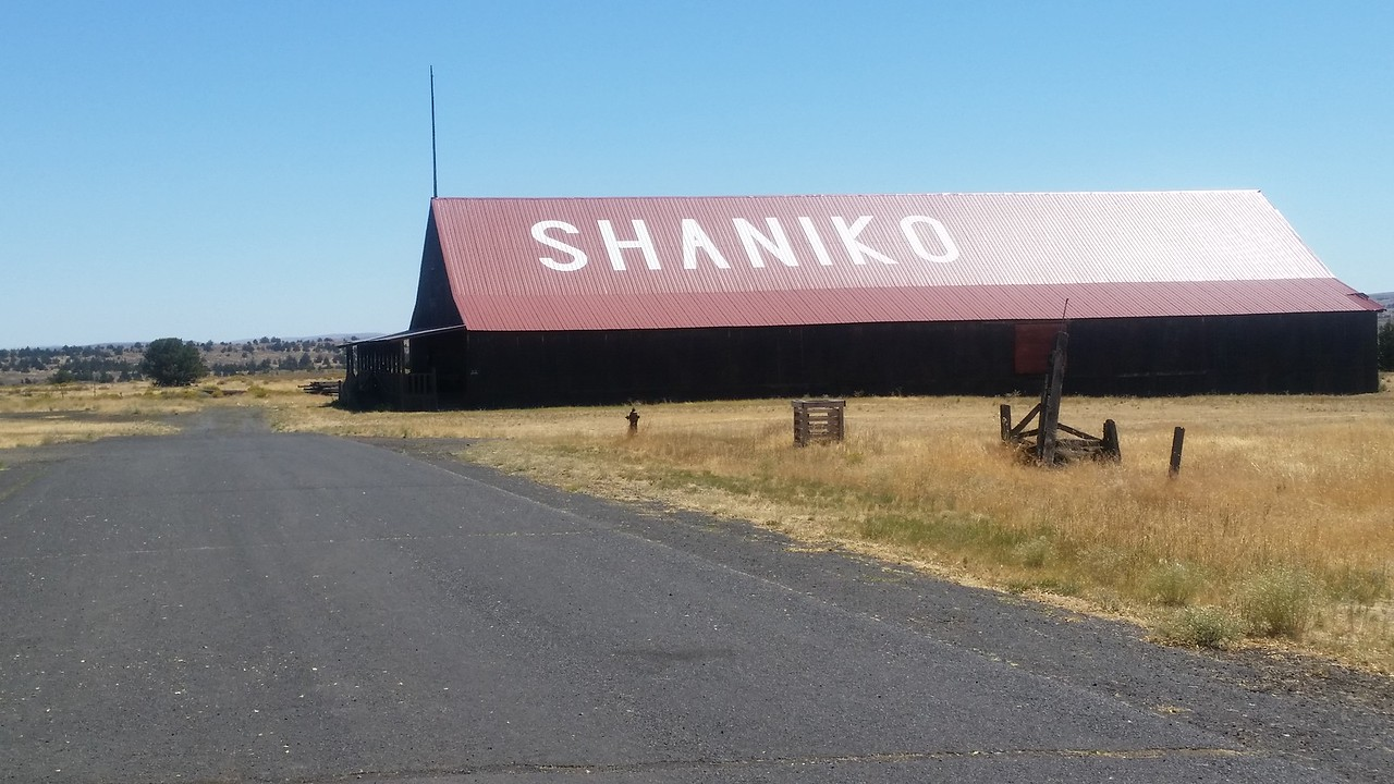 The wool shed.  Shaniko was a big wool growing area in it's heyday.