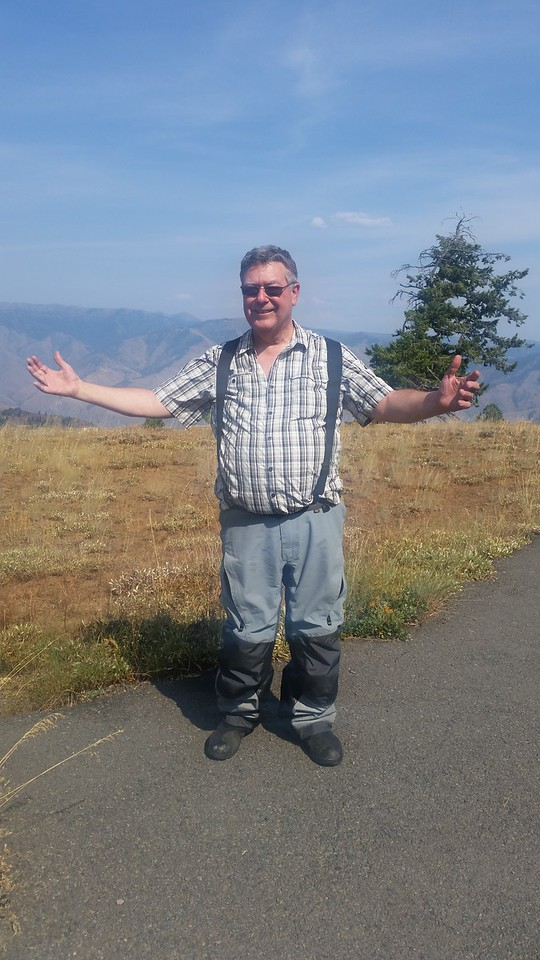 At the Hells Canyon (OR) overlook.