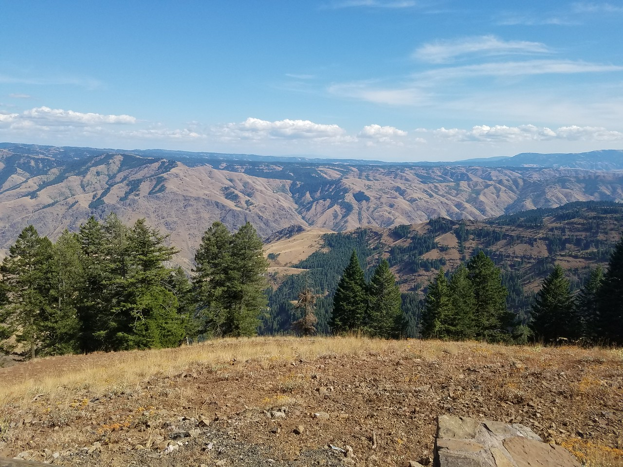 Hells Canyon Overlook view 3.
