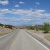 On the Turquoise Trail road on the East side of the mountains that are themselves East of Albuquerque.