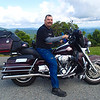 Donald on his Harley, Blue Ridge Parkway 7/22/2014