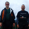 Vance and Donald at Pilot Mountain 2, 7/22/2014