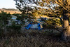 First day campsite in San Simeon, CA