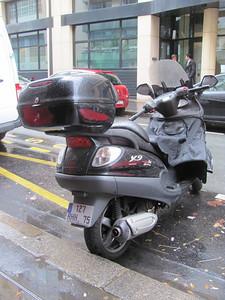 Piaggo scooter, the company that makes Vespa.