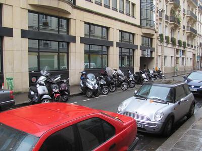 Typical street in Paris...