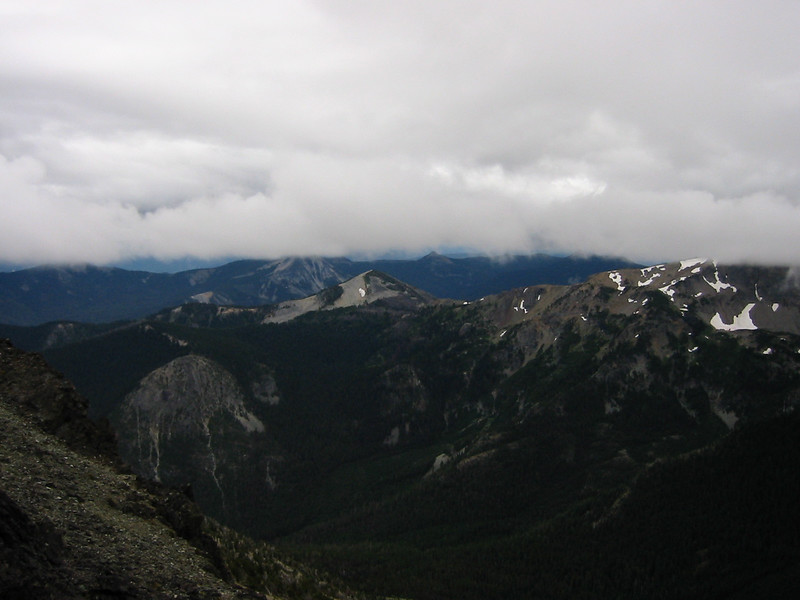 View north from about 3/4 of the way up