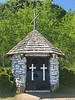 Mountain Chapel at Mount McKay erected September 10 1888 by Reverent Father Joseph Hebert SJ, restored and dedicated to his memory September 1939 by Norman M. Paterson.
