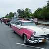 Pink Cadillac?  No, its another Ford. This time a Crown Victoria from the 1950's