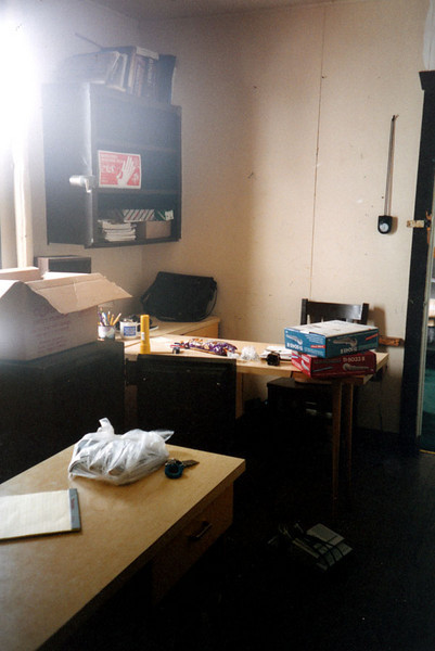 SUNRISE LODGE OFFICE<br /> This was Lisa's office at Sunrise. Her bedroom it just to the right.