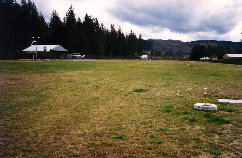SWENSON FIELD<br /> Puyallup, Washington<br /> <br /> This is a little private airstrip where folks not only have their hangars, but their houses. Now, how's that for convenience? Great place!