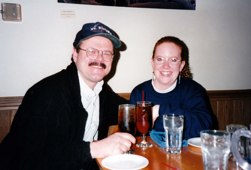 DOUG AND LISA<br /> If you hadn't guessed by now, Lisa and I are a couple, and would be for the next four years.