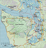 THE OLYMPIC PENINSULA<br /> Mostly we followed Highway 101, but had to take some side roads to get to Neah Bay. I believe we even went to La Push, if I'm not mistaken.