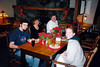 THE GANG AT CHRISTMAS DINNER<br /> National Park Inn, Longmire<br /> <br /> Christian, Paula, Mac, and Lisa