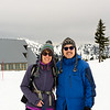 Tatoosh range behind us