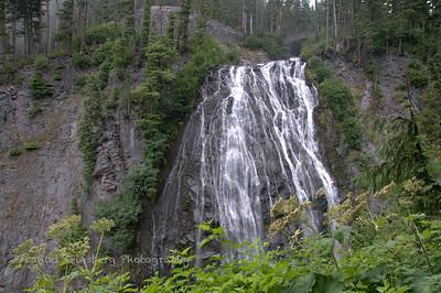 Narada Falls Mount Rainier National Park.
