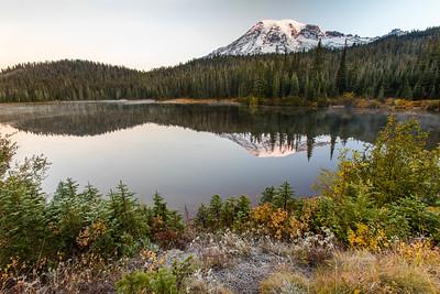 Reflection Lakes at Sunrise