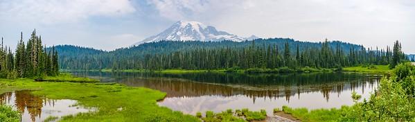 Mt Rainier Vista Pano