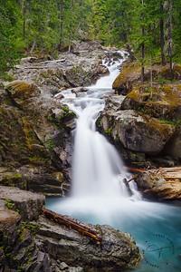 Mt. Rainier - Silver Falls