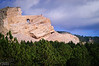 17 miles from Mount Rushmore you find what in my opinion is the biggest rip-off (literally) I encountered in my many trips around the US and elsewhere.  The Crazy Horse Memorial.