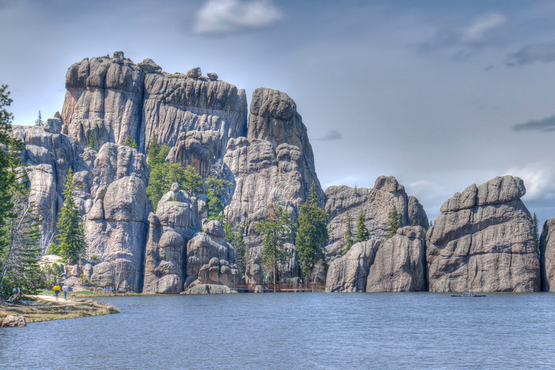 Sylvan Lake (HDR).