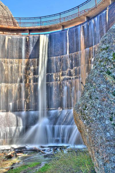 Dam at Sylvan Lake (HDR).