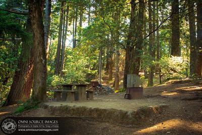 Pan Toll Campground Mt Tamalpias