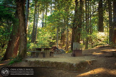 Pan Toll Campground Mt Tamalpias