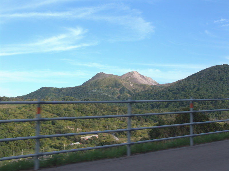 The main part of Mt. Uzu which I did not have the time  in my schedule to visit.