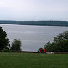 A great view, even on a rainy day. Mount Vernon, August 2, 2008.